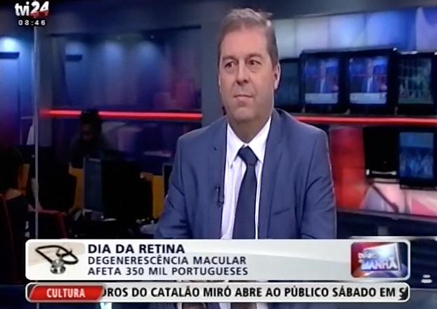 Prof. J. Figueira – Dia Mundia da Retina (TVI/TVI24)